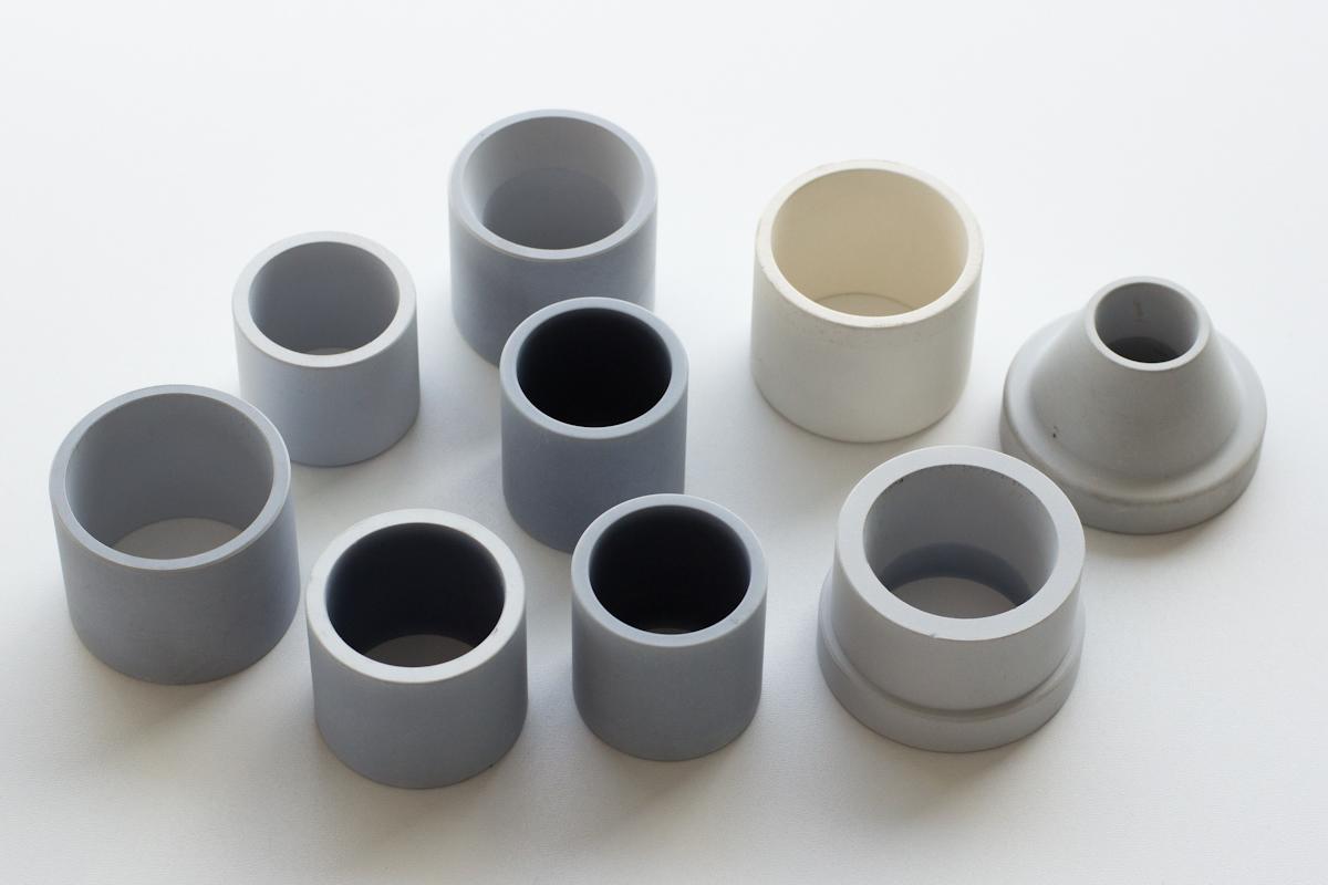 Boccole e tubi in titanato d'alluminio - ltmgroup